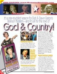 God & Country - Branson Savings .Com