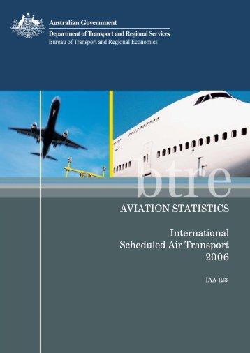 PDF: 533 KB - Bureau of Infrastructure, Transport and Regional ...