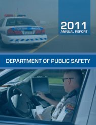 2011 DPS Annual Report - Arizona Department of Public Safety