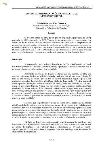 Estudo das Representações do Conceito de ... - Axpfep1.if.usp.br