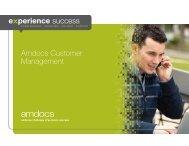 Amdocs Customer Management Brochure