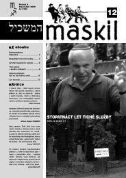 12 - Maskil
