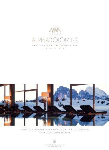 HOTEL (english) - Alpina Dolomites