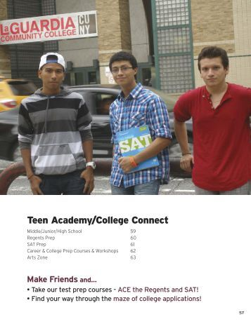 Teen Academy/College Connect - LaGuardia Community College