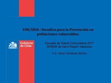 VIH/SIDA - SEREMI de Salud Región Valparaíso