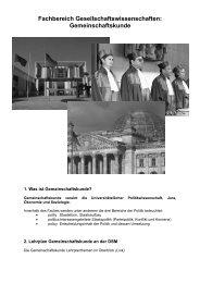 Gemeinschaftskunde - Deutsche Schule Moskau