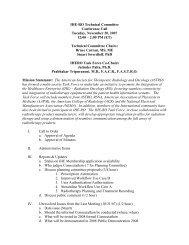 IHE-RO Planning Committee - IHE Wiki