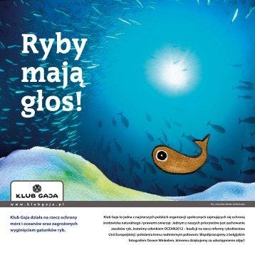 Ryby mają głos! - Klub Gaja