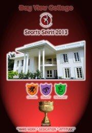 Sports Magazine 2013 - Bay View High