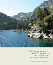Conference Proceedings - National Atmospheric Deposition ...