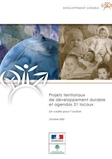 Projets territoriaux de développement durable et agendas 21 locaux