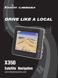 X350 spec