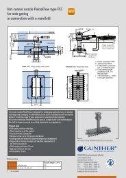 Flyer MT-TT - GÜNTHER Hot Runner Technology