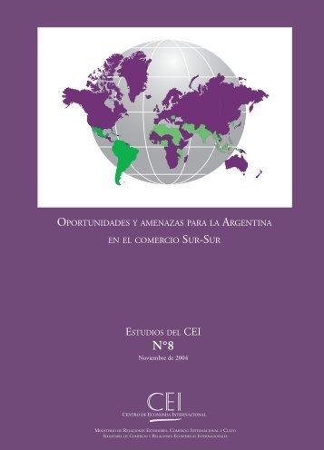 Oportunidades y amenazas para la Argentina en el comercio Sur ...