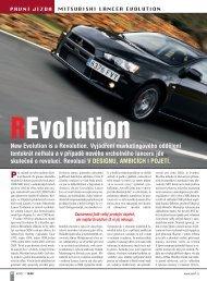 Mitsubishi Lancer Evolution - M Motors CZ, s.r.o.