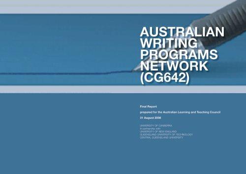 australian writing programs network