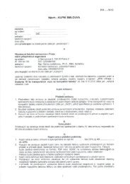 Příloha č. 2 - Návrh kupní smlouvy - Všeobecná fakultní nemocnice v ...