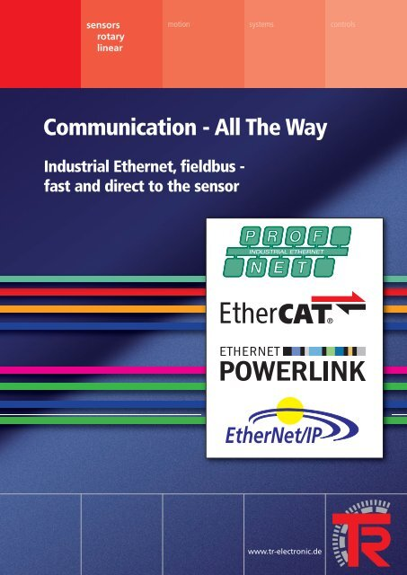 Communication - All The Way - TR Electronic
