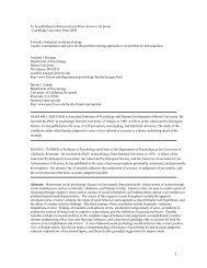 Read the corresponding work. - UCLA Center for Behavior ...