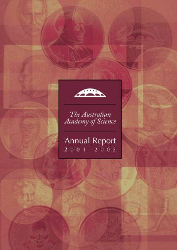 annual report print - Australian Academy of Science