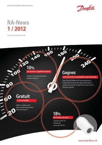 RA-News 1 / 2012 - Spécialistes Suisse - Danfoss