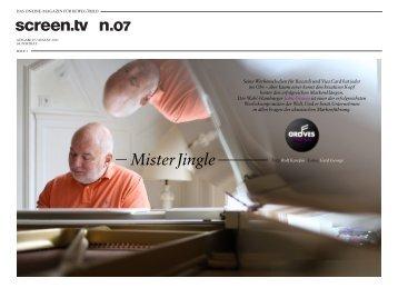 MisterJingle - das online-magazin für bewegtbild