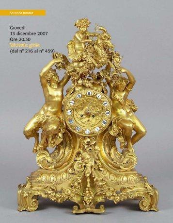 Giovedì 13 dicembre 2007 Ore 20.30 Etichette gialle (dal n° 216 al n ...
