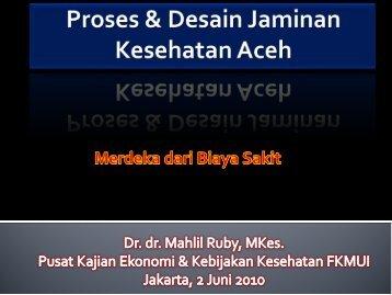 Dokter Praktek Umum Sebagai Basis Rujukan - Kebijakan ...