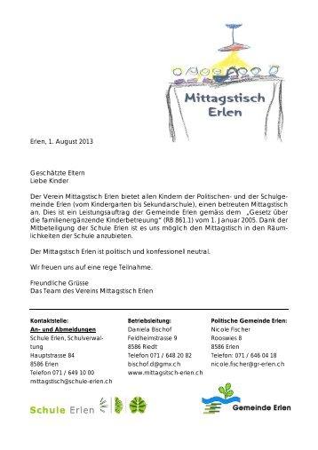 Informationsflyer mit Anmeldetalon (67.4 KB) - Schule Erlen