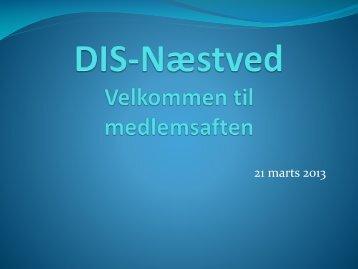 DIS-Næstved: Søgemuligheder på internettet. - DIS-Danmark
