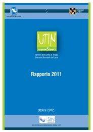 Rapporto UTIN 2011 (file pdf ) - Agenzia di Sanità Pubblica della ...