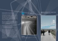 brochure for MUN 2.0 - C-MUS - Aalborg Universitet
