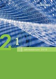 Jahresbericht 2010 - OdA Soziales Bern