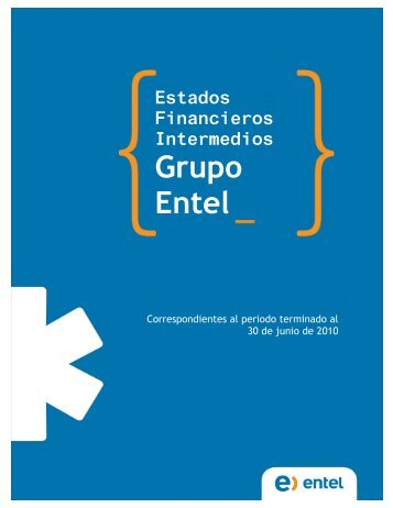 Estados Financieros Intermedios Grupo Entel