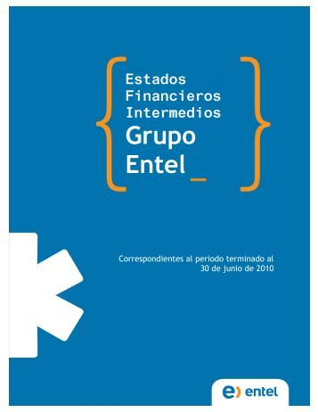 Estados Financieros Intermedios Grupo Entel