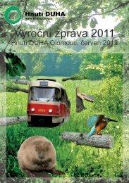 Výroční zpráva 2011 ke stažení (pdf). - Hnutí DUHA