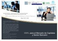 XBRL para el Mercado de Capitales y Sector Bancario - XBRL España
