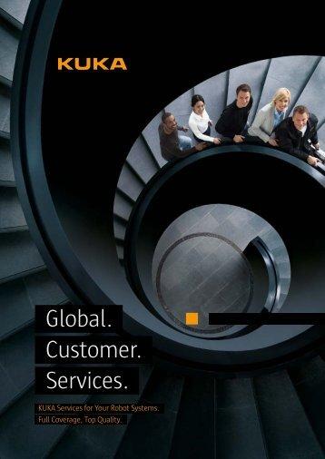 Global. Customer. Services. - KUKA Robotics