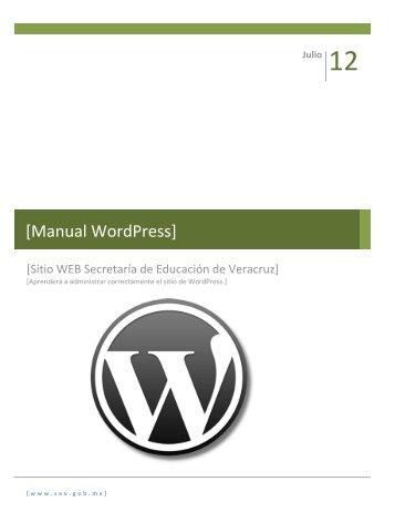 [Manual WordPress]