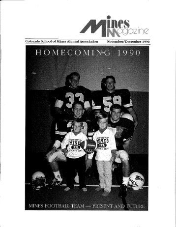 Alumni Association - Mines Magazine - Colorado School of Mines