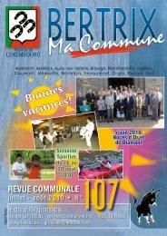 Revue Communale de Bertrix n° 107