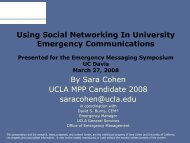 Social Networking - Vice Provost - Information and Educational ...