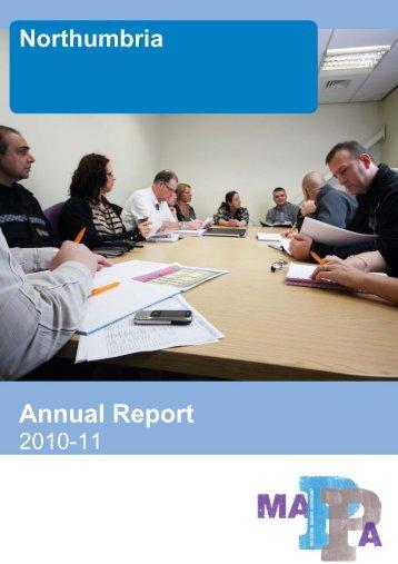 MAPPA Northumbria Annual Report 2010-2011