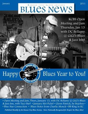 January - Kansas City Blues Society