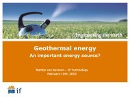 Deep Geothermal systems - Eindhoven University of Technology