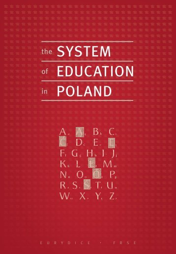system of education.indb - Eurydice