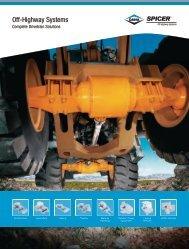 Off-Highway Capabilities Brochure (pdf) - Dana Corporation