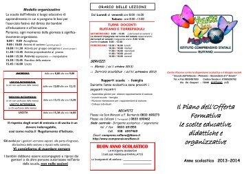 brochure infanzia 2013 / 2014 - Istituto Comprensivo Statale Ruffano