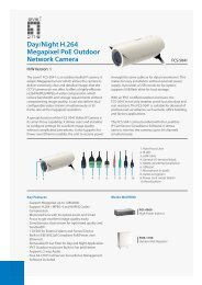 Day/Night H.264 Megapixel Poe Outdoor Network Camera - Levelone