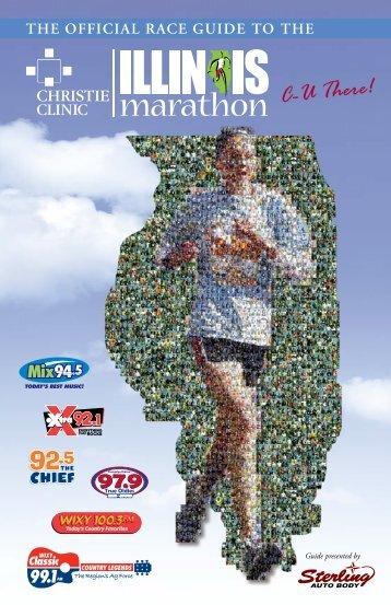 Official Race Guide - Illinois Marathon